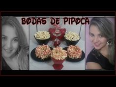 Bodas de Pipoca / 4 meses de namoro ou casado / bolo de pipoca - YouTube