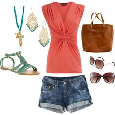 Sweet Summertime, created by alanad23 on Polyvore