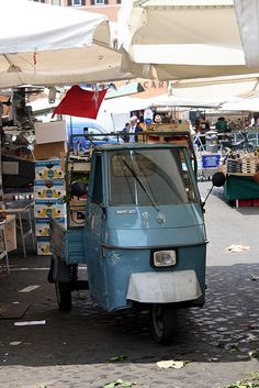 Piaggio ape P50 - I would love to have one of these.