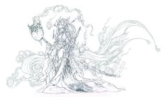 Patreon Bonus - Demon sword pencil lineart by muju.deviantart.com on @DeviantArt
