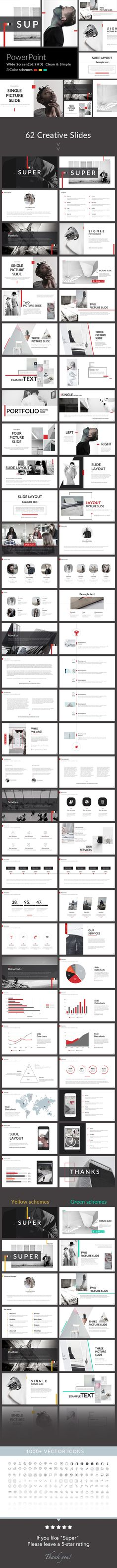 Super - PowerPoint Presentation Template - Creative PowerPoint Templates