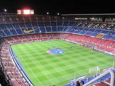 Camp Nou, home of FC Barcelona