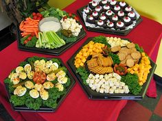 Finger foods for the party!!