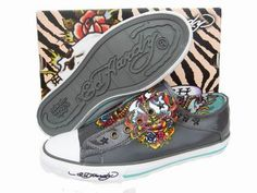 Ed Hardy<3- I have 4 pair/pairs of this style of EH shoe.  So comfortable and stylish.