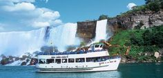 Maid of the Mist is one of the most iconic trips in Niagara Falls, New York. Add this one to the Travel Bucket list!