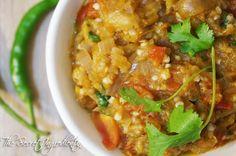 Baingan Ka Bhartha | Smoky Eggplant Dish