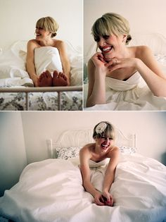 Love candid and casual wedding shots - kind of wish that we had some (but they didn't do those in the nineties, LOL!).