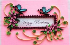A cute way to make birthday card for your loved ones