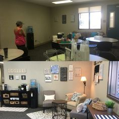 Solana Vista teachers lounge before and after !