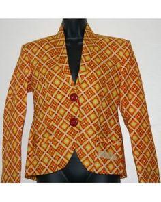 Divine African Print blazers DAPB001