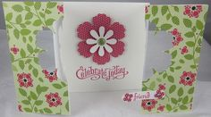 Cheerful Treat Blossom Punch Gatefold by Carol Payne - Cards and Paper Crafts at Splitcoaststampers