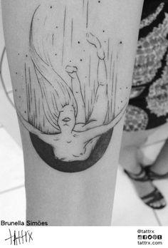 Brunella Simões @brusimoes | Vitória Brazil  tattrx.com/artists/brusimoes  #brusimoes#tattoos#tatuagem#tatuagens#expressionist#fine line#brunella simoes#brasil#brazil#tattoo art#tatuadora#female tattoo artist#ink#inked#illustration#expressionism#blackwork