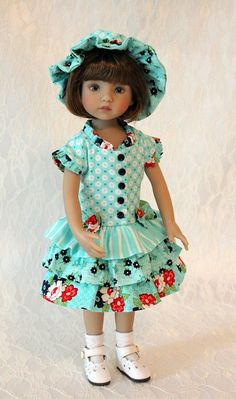 Dress and Hat for 13 Dianna Effner Little Darling by BabiesArtUs