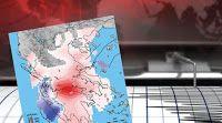 Πιερία: Μυστήριο με την παραμόρφωση του φλοιού της Γης στο... Diagram