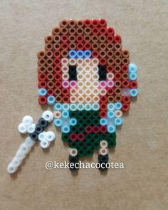 Zarina perler beads by kekechacocotea