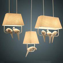 Латинской америки подвесные светильники винтаж птичья клетка Droplight спальня висит лампа новый свет кафе внутри свет(China (Mainland))