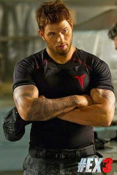 Kellan Lutz as Smilee in Expendables 3