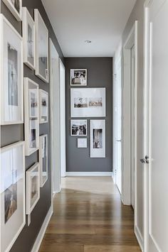 Hallway Paint Colors, Hallway Walls, Upstairs Hallway, Paint Colours, Entry Hallway, How To Paint Hallways, Colours For Hallways, Dark Colors, Ikea Hallway