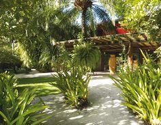 Como fazer uma varanda estendida no jardim - Paisagismo - Plantas, Flores e Jardins