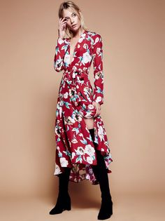 c75ed87966b Nico Printed Maxi Gown Bohemia Dress