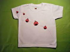 Resultado de imagen de camisetas pintadas diseños