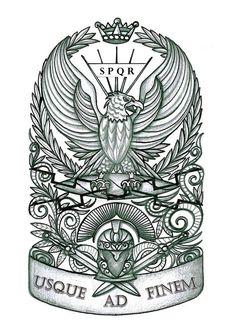 Photo category Spqr tattoo at number description Roman Military Tattoos lt Images amp Spqr Tattoo, Christopher Street, Empire Tattoo, Roman Warriors, Roman Legion, Morphe Palette, Military Tattoos, Eagle Tattoos, Norse Tattoo