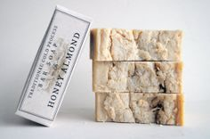 Honey Almond Traditional Cold Process Bar Soap by ScumSoaps, $11.99