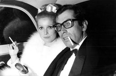 "glorious-queens: ""Catherine Deneuve & Roger Vadim"""
