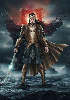 Elrond by DanPilla.deviantart.com on @DeviantArt