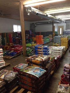 The variety of pet food we offer is endless! Come see us at McDonnell Hardware & Feed in Keller, TX.  www.mcdonnellfeed.com
