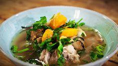 Boil up - pork bones & watercress