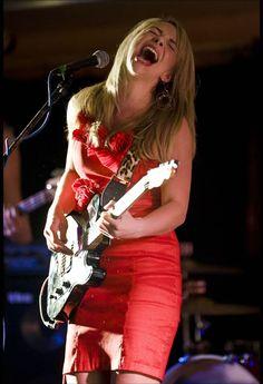 Rising blues star from Kansas City, Missouri, Samantha Fish.