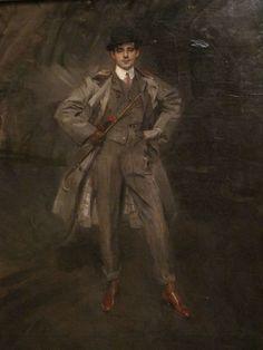 """Portrait de Georges Goursat dit Sem (1902), Giovanni Boldini - Exposition """"Paris via Yvette Gauthier"""