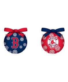Take a look at this Boston Red Sox LED Ornament Set by Evergreen on #zulily today!
