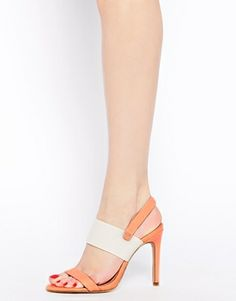 Summary Leather Heeled Sandals