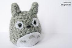 Totoro- Amigurumi -  Kawaii Plush - Crochet - Uncinetto - Morbido di SakumoAmigurumi su Etsy