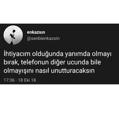 Source by meltem_yetisir Favorite Quotes, Best Quotes, Sarcastic Words, Weird Dreams, Instagram Story, Instagram Posts, Real Love, Beautiful Day, True Stories
