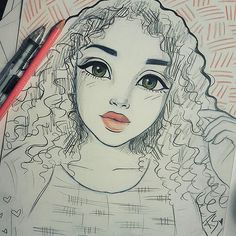 Finished this quick sketch of the beautiful @lesweetpea who was perfect for my anime+disney style that I haven't done in a while #anime #disney #art #cartoon #illustration #sketch #drawing #draw #drawings #illustrations #sketches #artist #arts #love #happy #curly #curlyhair #inspiration #instahub #artwork #Godisgoodallthetime