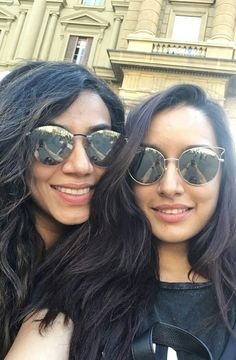 14b6cbc438 Enjoying in Italy! Shraddha Kapoor and Eshanka wahi.