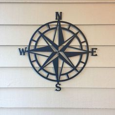 Compass Wall Decor, Nautical Compass,Wall Art, Nautical Metal Wall Art,  Nautical