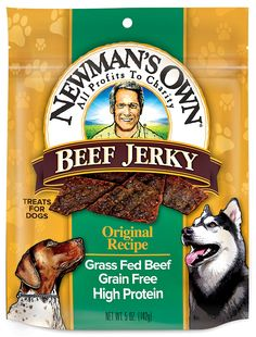 Newman's Own Beef Jerky, Recipe, 5 oz -- Details can be found by clicking on the image. (This is an affiliate link and I receive a commission for the sales)
