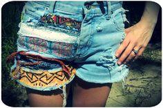 My DIY high waisted vintage shorts :) #diyshorts