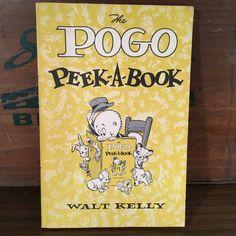 The Pogo Peek-A-Book by Walt Kelly Vintage Paperback Comic Strip from 1955 Simon…