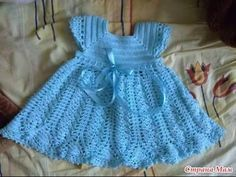 fotos de Vestido Niña Crochet Tejido 2016 - YouTube