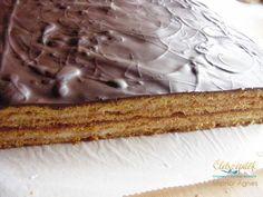 Klasszikus házisütemény: mézes zserbó Vanilla Cake, Pie, Tiramisu, Muffin, Cukor, Ethnic Recipes, Food, Products, Torte