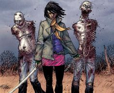Michonne, my fav character from TWD comic series, probably gonna be my fav in the show too.