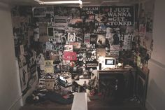 "Punk Bedroom Tumblr ""punk bedroom""installation by"