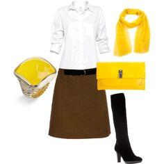 How to dress professionally and look like SpongeBob.