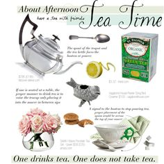 About Afternoon Tea Time, created by cutandpaste on Polyvore