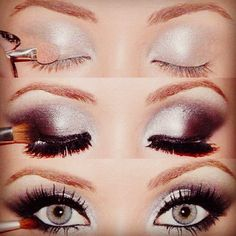 This looks kind of like my prom makeup for this year, just mine is less dramatic.